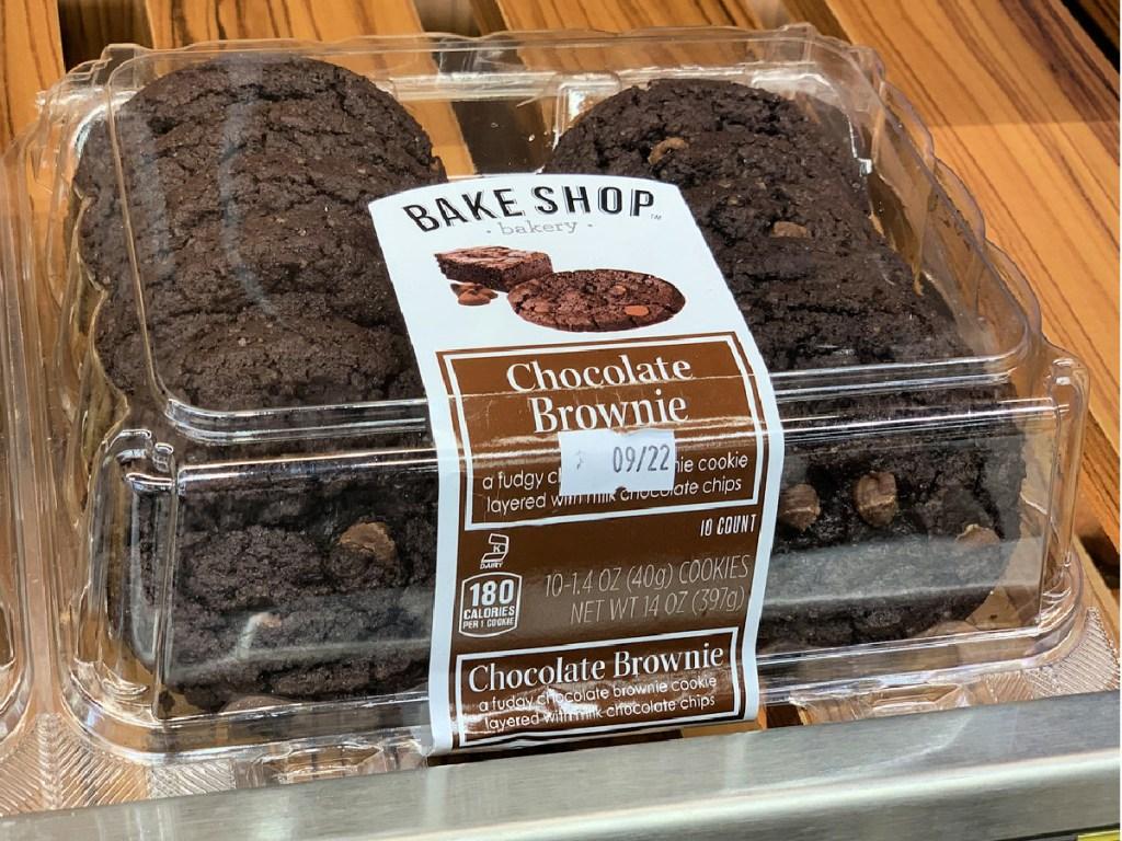 Bake Shop Bakery Chocolate Brownie Cookies
