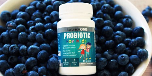 Balance One Kids Probiotics 2-Month Supply Only $11.98 on Amazon | Supports Digestion & Immunity