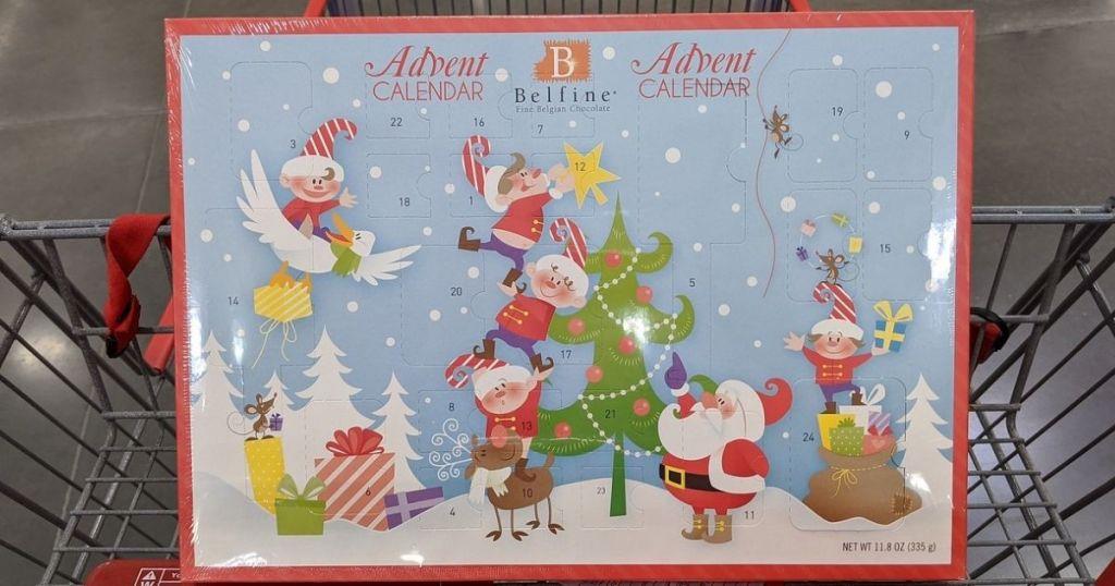 Belfine Chocolate Advent Calendar Costco