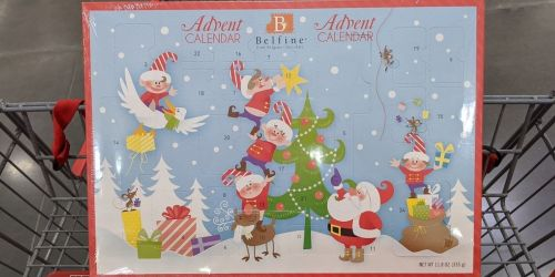 Belgian Chocolate Advent Calendar Only $13.99 at Costco