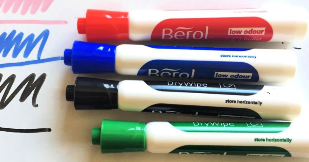 Berol 48-Count Bullet Tip Dry Erase Markers
