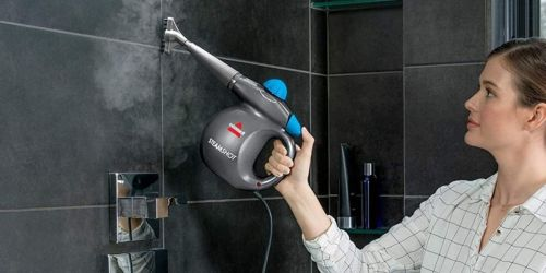 Bissell Steam Shot Cleaner Only $19.99 on Amazon | Tough on Grout & Floors