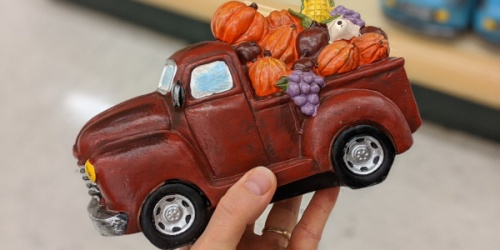 These Vintage Red Truck Decorations are 40% Off at Hobby Lobby
