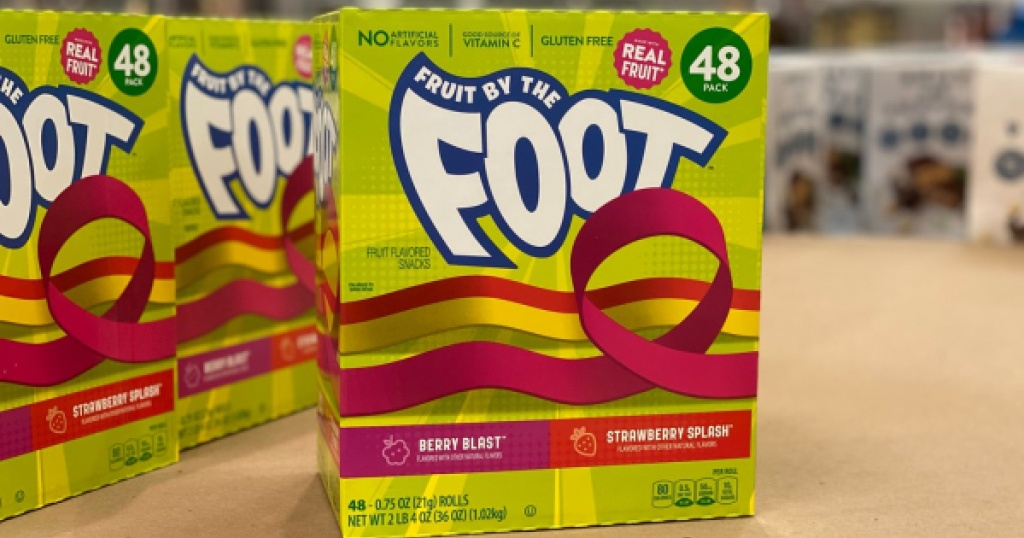fruit by the foot single pack at costco