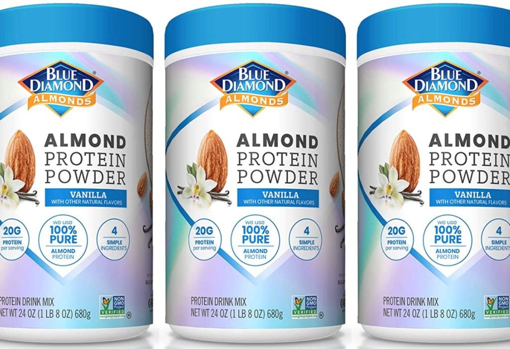 Blue Diamond Almonds Vanilla Almond Protein Powder