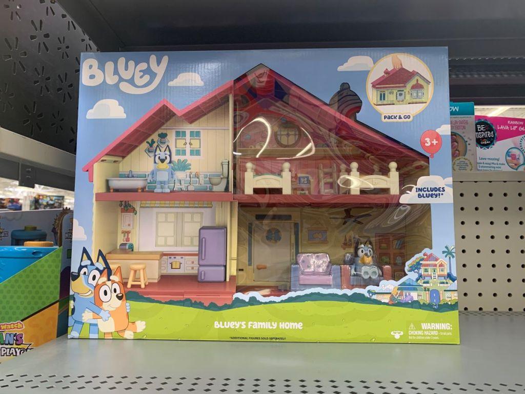 Bluey's Family Home toy set
