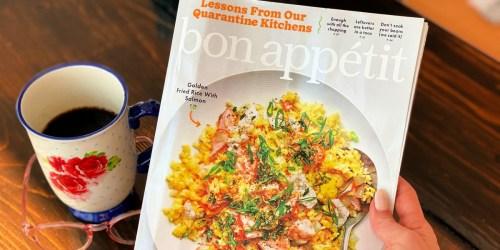 Complimentary 1-Year Bon Appétit Magazine Subscription