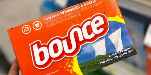 Bounce Dryer Sheets 240-Count Only $5.69 Shipped on Amazon