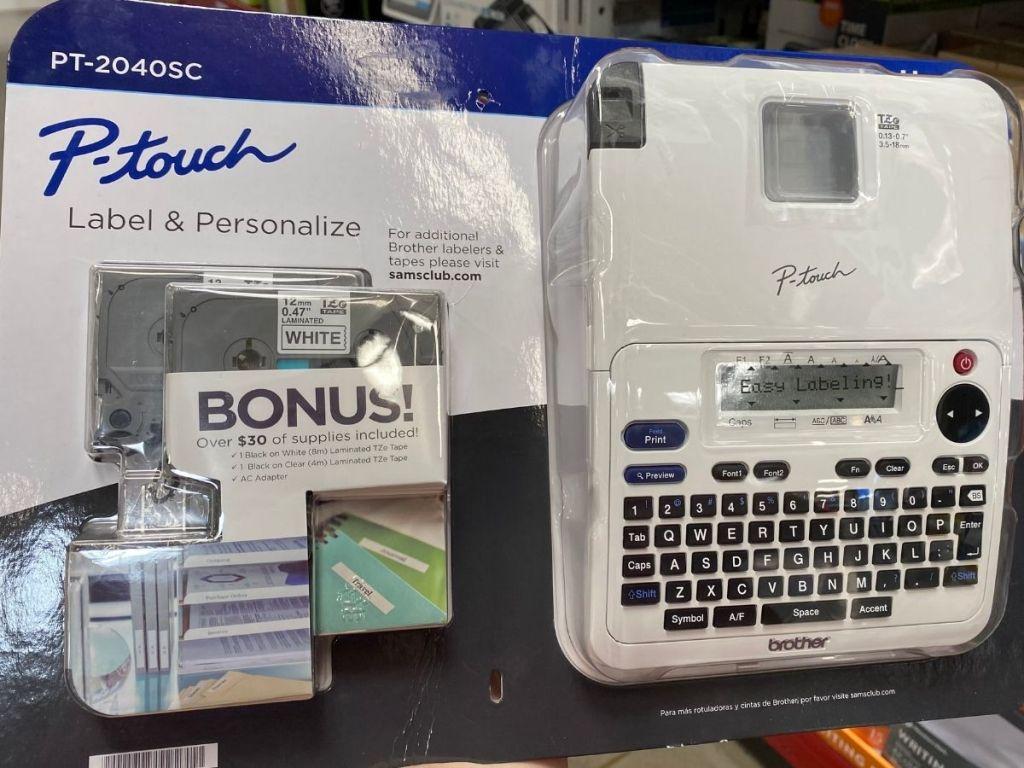 Borther P-Touch Label Maker Bundle