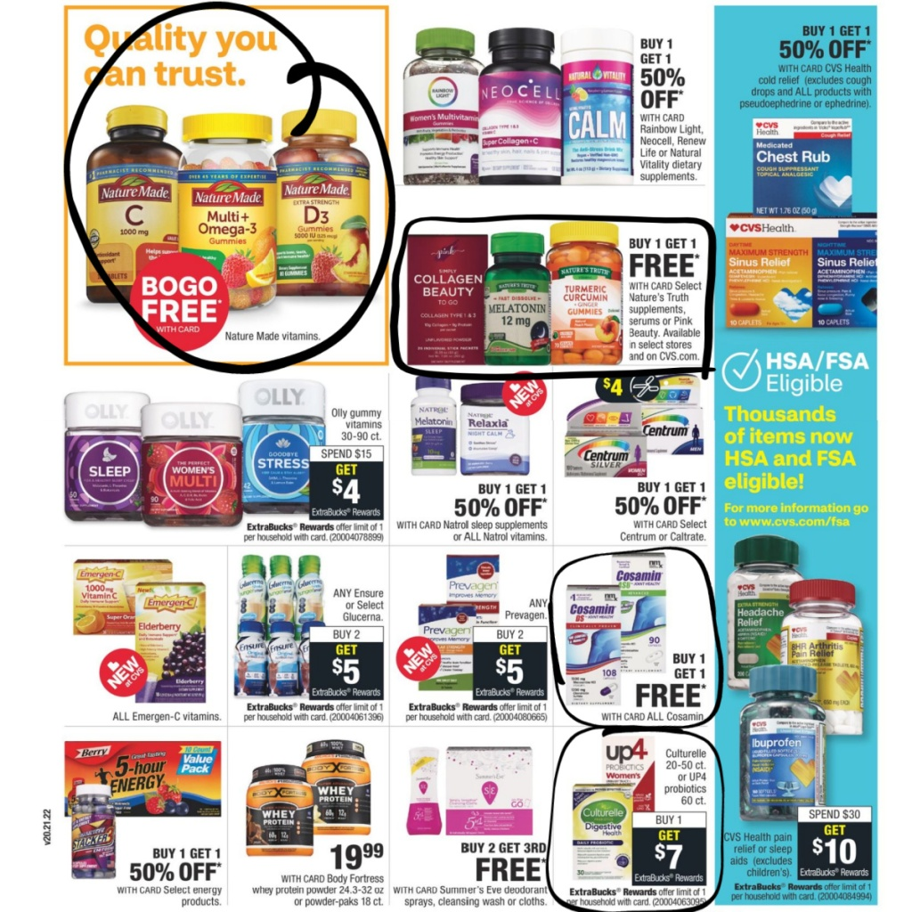 CVS Weekly Ad 9/27 to 10/3 Page 10