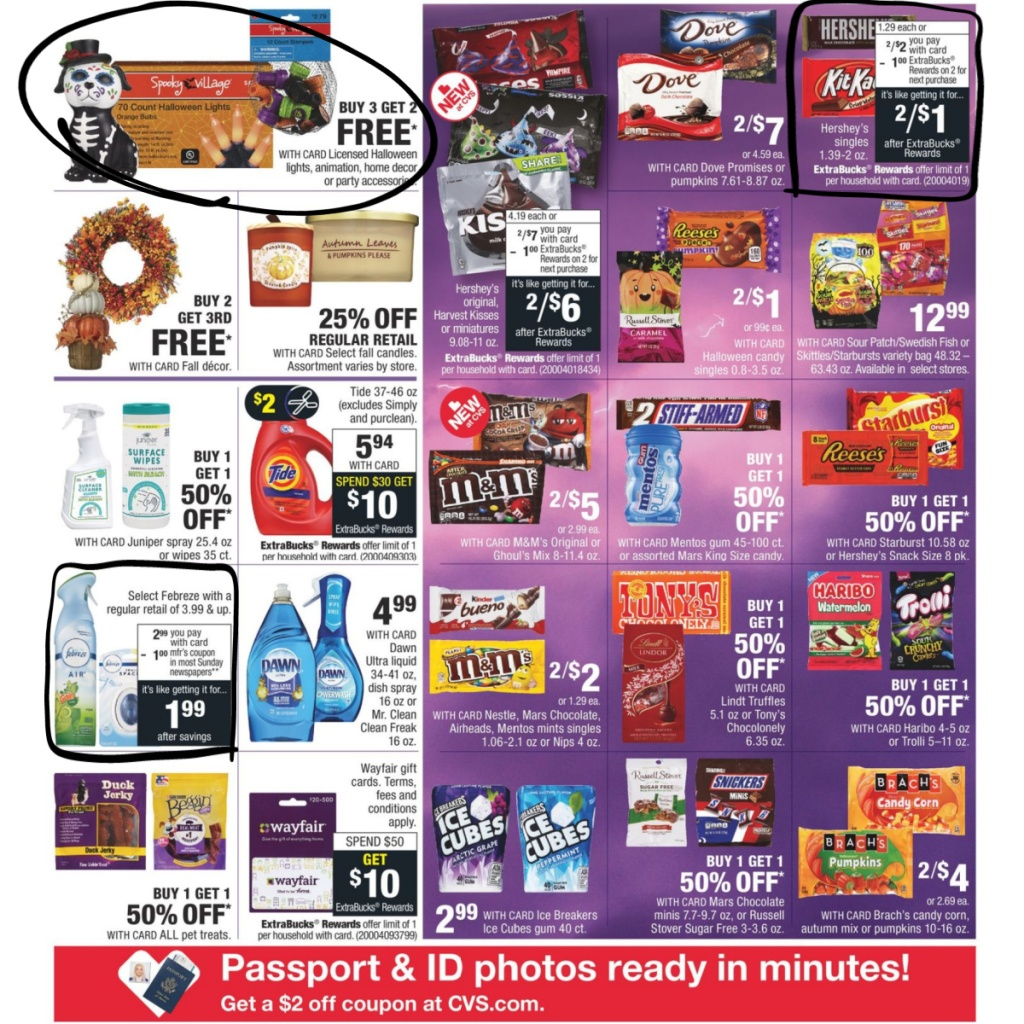 CVS Weekly Ad 9/27 to 10/3 Page 3