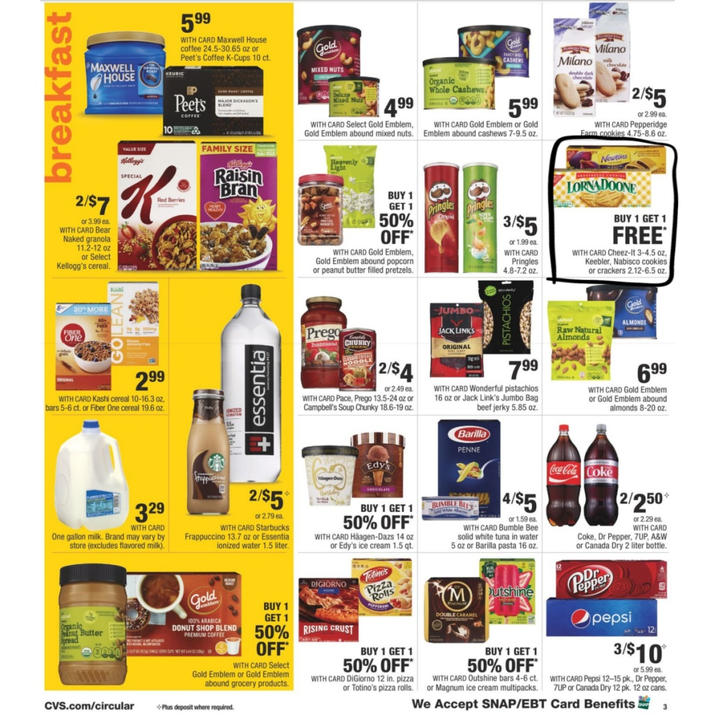 CVS Weekly Ad 9/27 to 10/3 Page 4