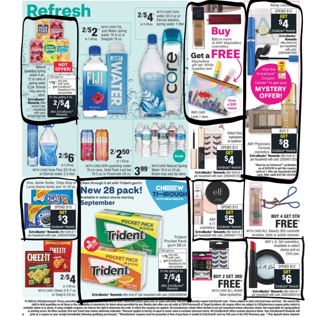 CVS Weekly Ad 9/27 to 10/3 Page 5