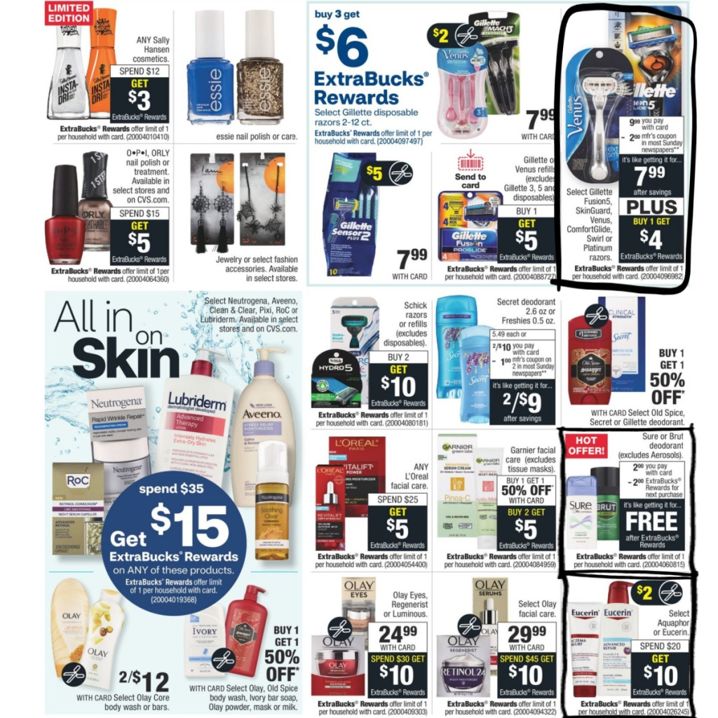 CVS Weekly Ad 9/27 to 10/3 Page 6