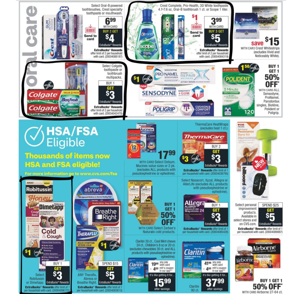 CVS Weekly Ad 9/27 to 10/3 Page 8