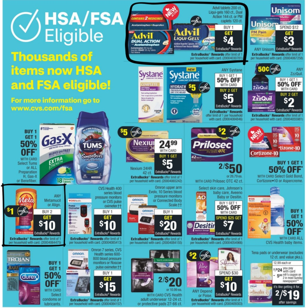 CVS Weekly Ad 9/27 to 10/3 Page 9