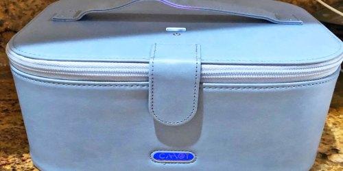 50% Off UV Sanitizer Bag + Free Shipping on Amazon | Disinfect Masks, Keys, Phone & More
