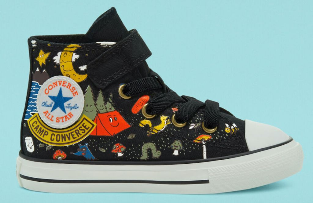 black pair of Camp Converse Easy-On Chuck Taylor All Star