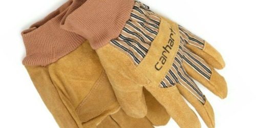 Carhartt Men's Insulated Work Gloves Just $9 on Amazon (Regularly $18)