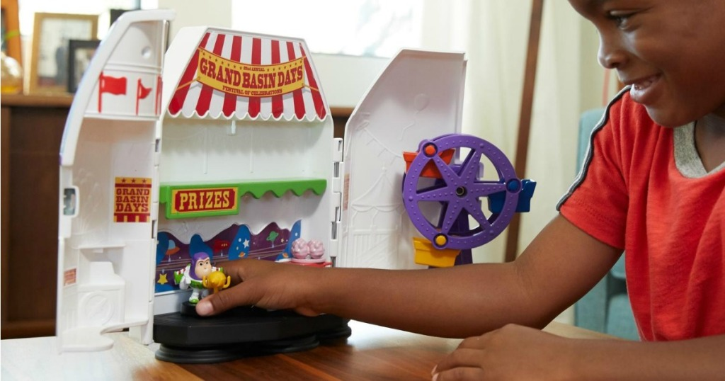 Carnival Playset for Buzz Lightyear