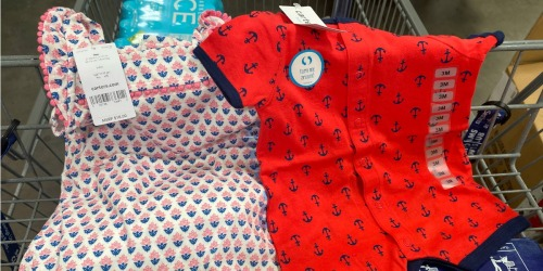 Carter's Rompers for $1.81 + More Clearance Deals at Sam's Club