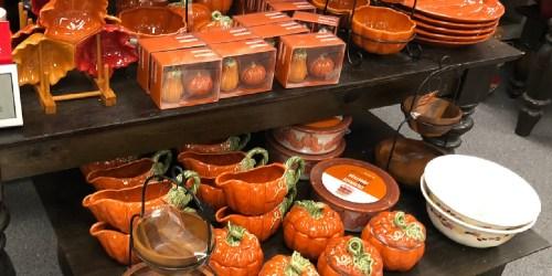 Pumpkin Serveware from $7 Shipped for Kohls Cardholders (Regularly $20+)