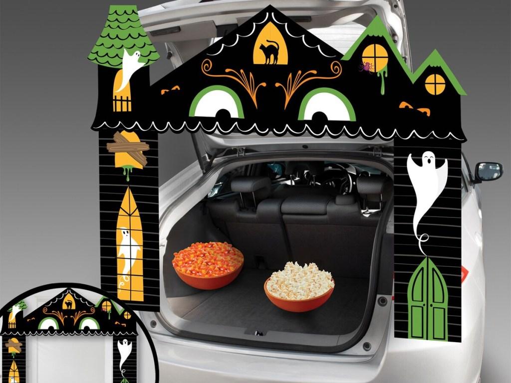 Celebrate It Halloween Haunted House Trunk Decorating Kit