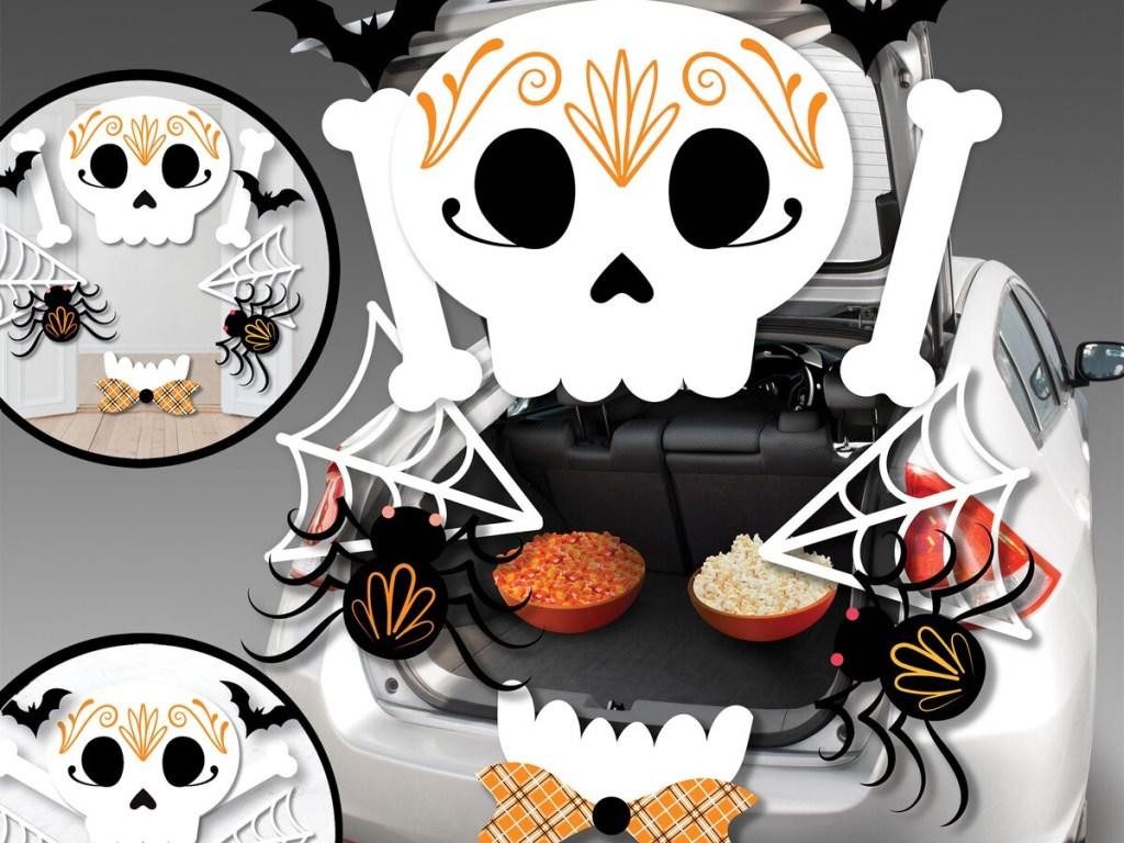 Celebrate It Skull Trunk Decorating Kit