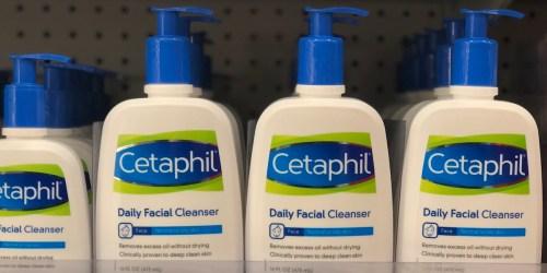 40% Off Cetaphil Cleansers 16oz Bottles After Cash Back & Target Gift Card