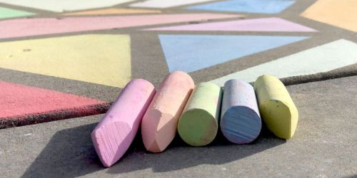 Sidewalk Chalk 126-Count Box Only $11.99 on Zulily (Regularly $22)