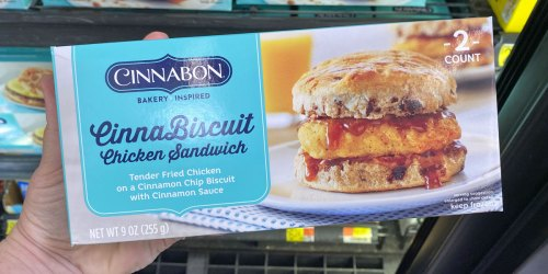 New Cinnabon Breakfast Sandwiches, Pastries & More Available Now at Walmart