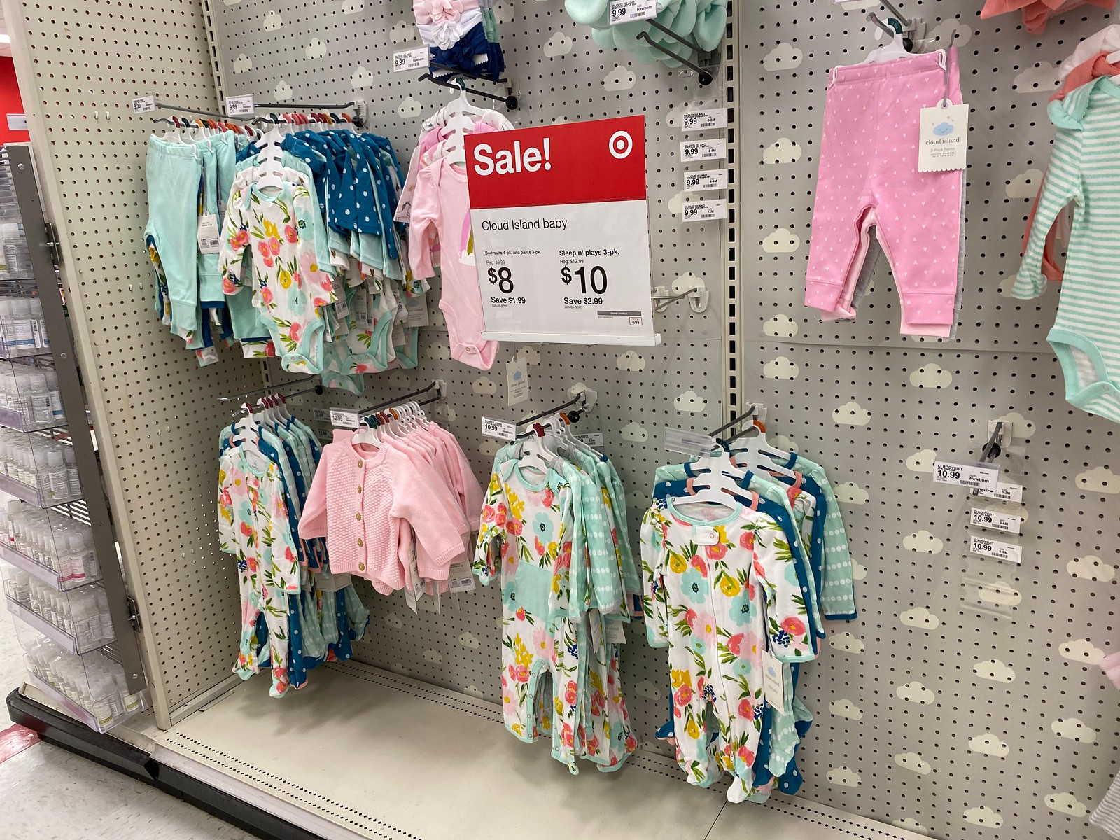 Cloud Island Baby Apparel in store