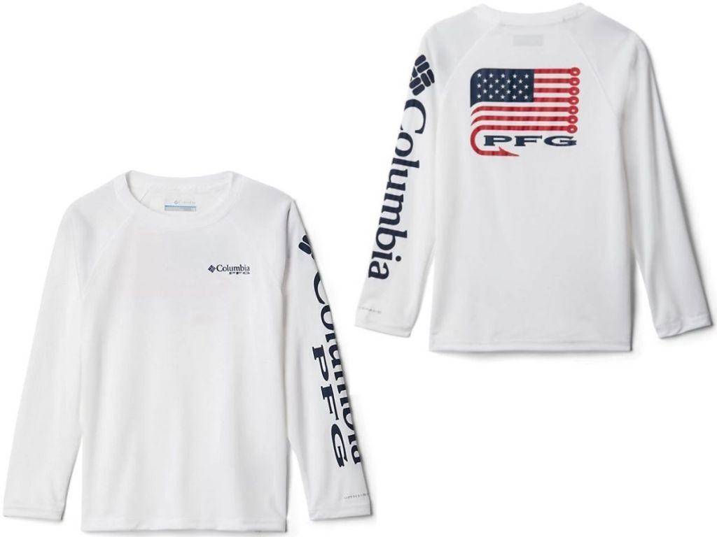Columbia Boys PFG Shirt