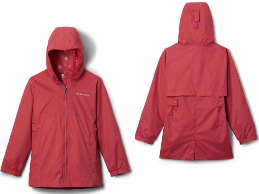 Columbia Girls Windbreaker Jacket