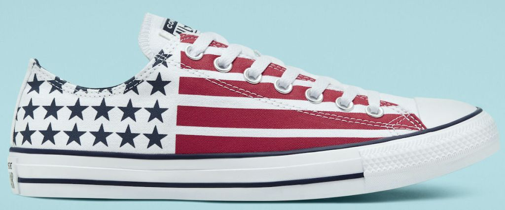 red white and blue striped Converse Stars & Stripes Chuck Taylor All Star