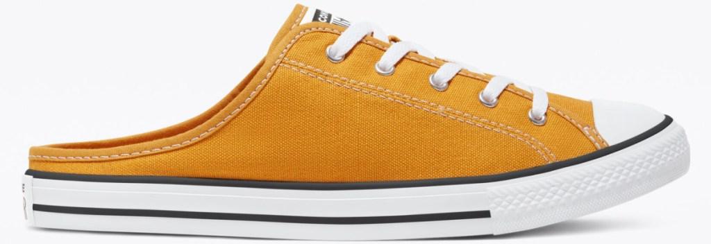 yellow slip on sneaker