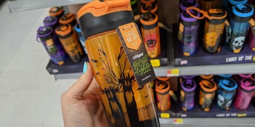 These Spooky Water Bottles Light Up & Are Under $6 at Walmart