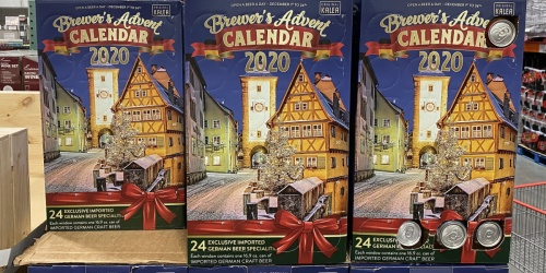 Brewer's Advent Calendar Available at Costco | 24 Cans of Imported German Craft Beer