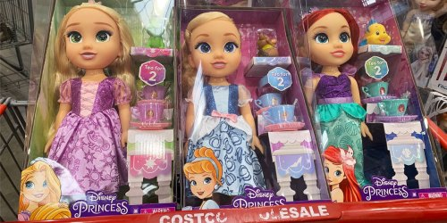 Disney Princess Tea Time Dolls Just $16.99 at Costco | Includes Tea Set Accessories