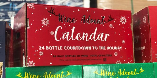 These Popular Wine Advent Calendars are Back at Costco & May Sell Out Fast
