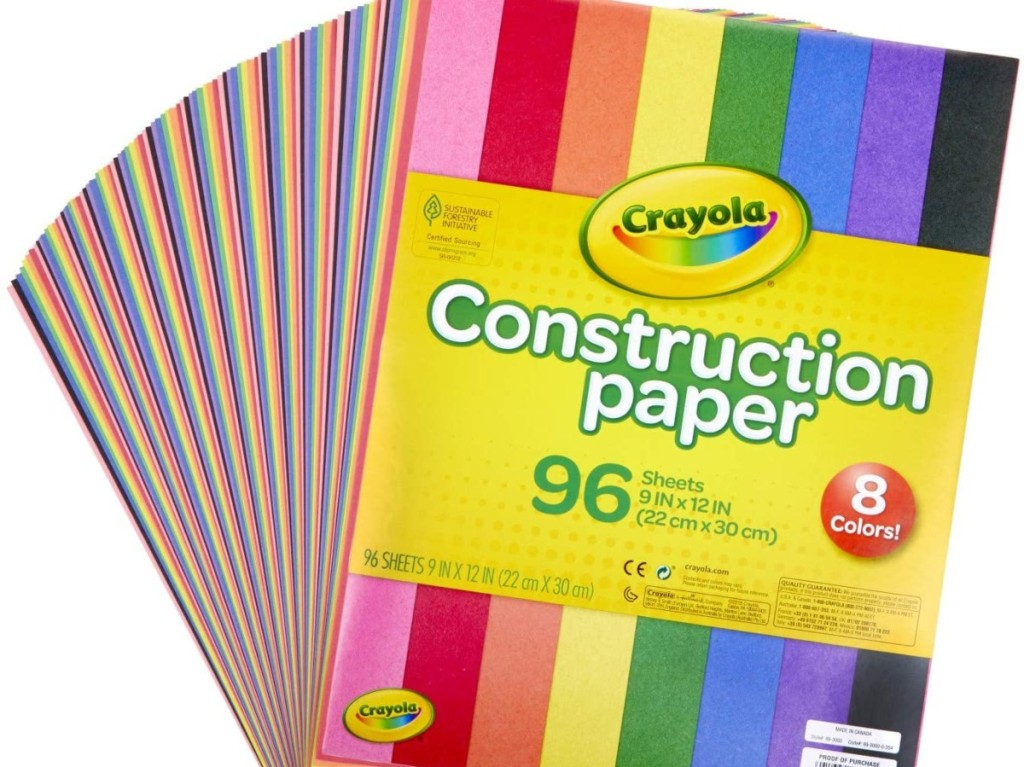 ream of Construction paper
