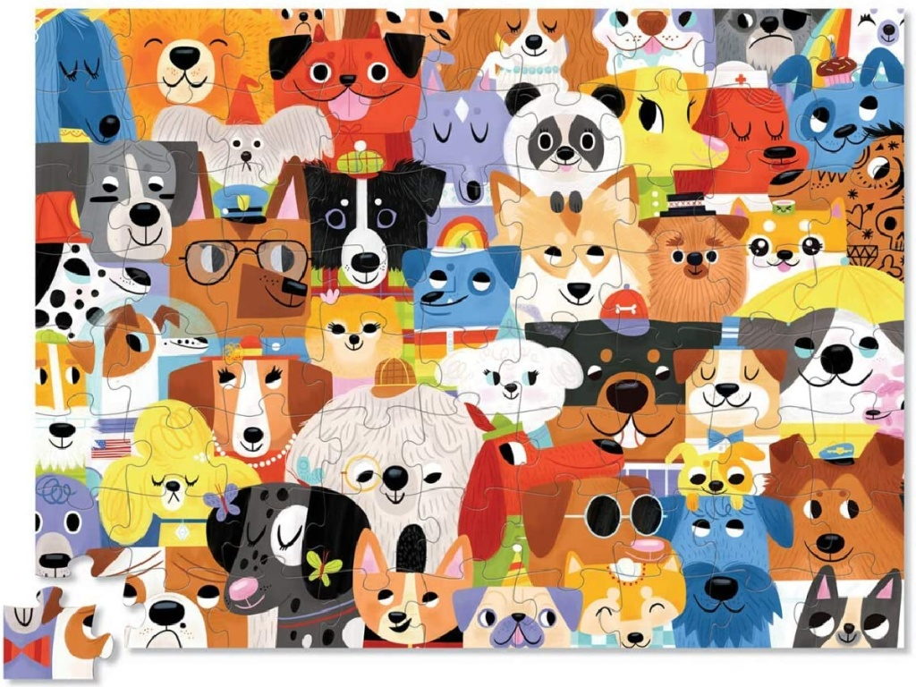 kids dogs jigsaw puzzle