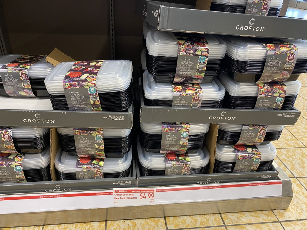 Crofton Meal Prep Containers on store shelf