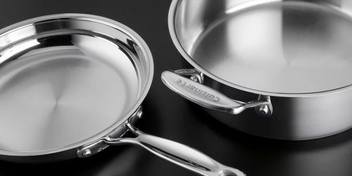 Cuisinart 8-Piece Stainless Steel Cookware Set Only $99.99 Shipped on Amazon | Great Reviews