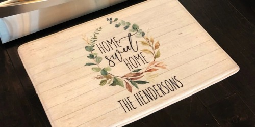 Personalized Memory Foam Floor Mat Only $29.99 Shipped | Choose from 37 Designs