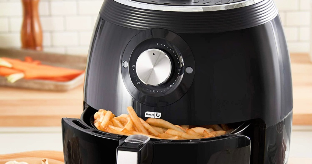 Dash Deluxe Electric Air Fryer + Oven Cooker