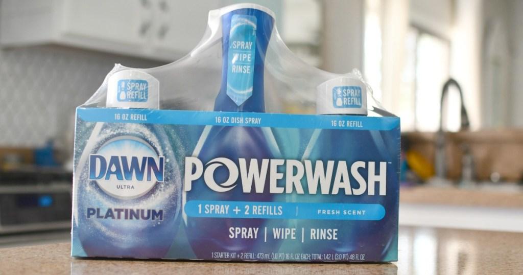 Dawn Powerwash Platinum spray from Costco