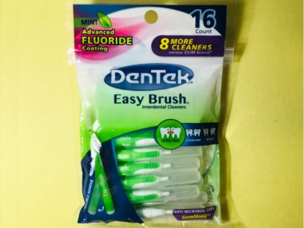 DenTek Easy Brush Interdental Cleaners 16-Count