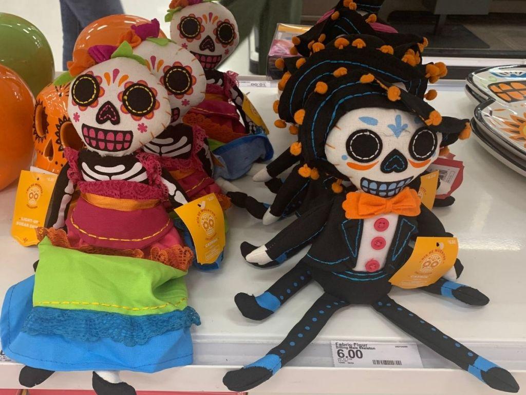 Target Dia de Muertos Soft Skeletons