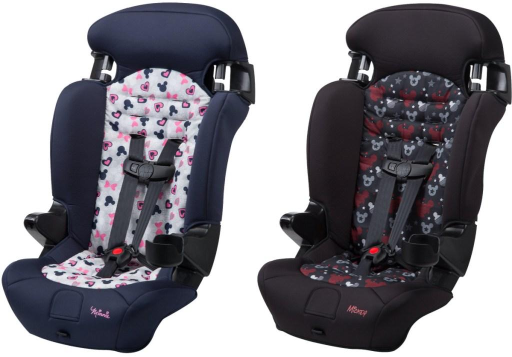 two Disney car seats
